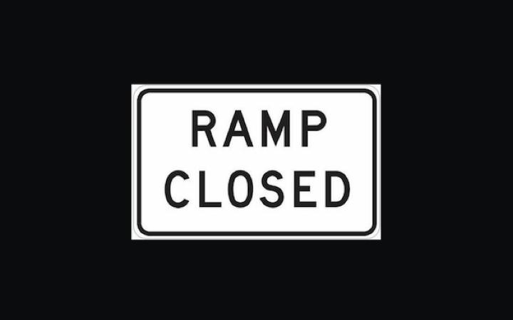 Mustang Ridge Ramp Closure