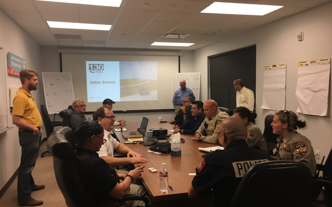 Working together to improve frontage road safety
