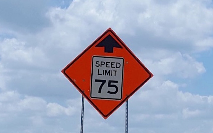 Work zone speed limits: Follow the signs not the barrels